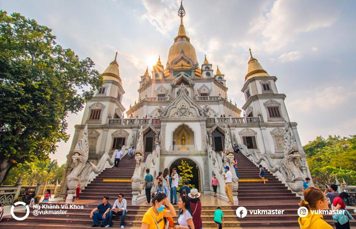 <strong>Chùa Bửu Long</strong> - Nguồn FB: Nguyễn Khánh Vũ Khoa - diadiemvietnam.com.vn