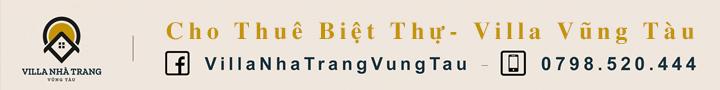 [Quảng cáo] Nhà tài trợ - Vườn Nhà Trang - Cho Thuê Biệt Thự Viila Vũng Tàu