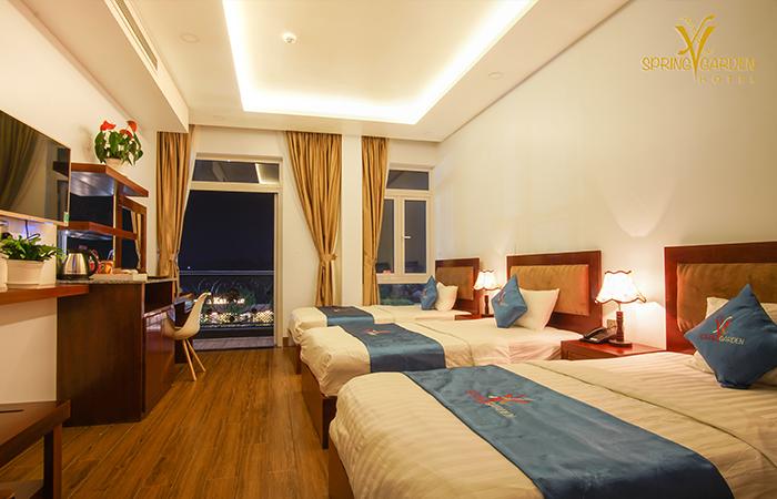 The Spring Garden Hotel Long Khánh - Deluxe Triple Lake View - Địa Điểm Việt Nam