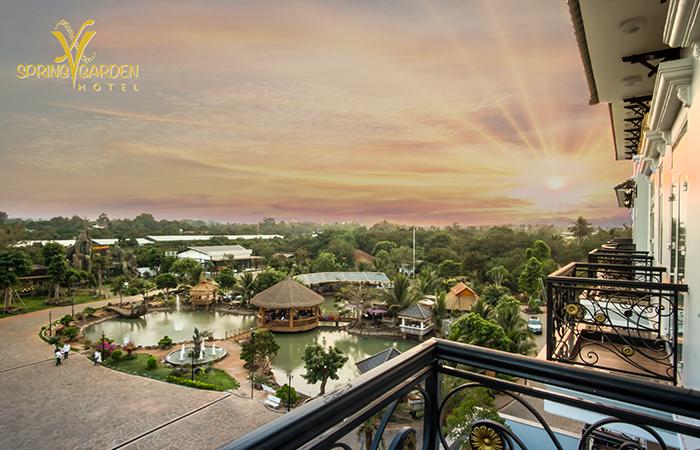 The Spring Garden Hotel Long Khánh - Góc nhìn bao quát - Địa Điểm Việt Nam