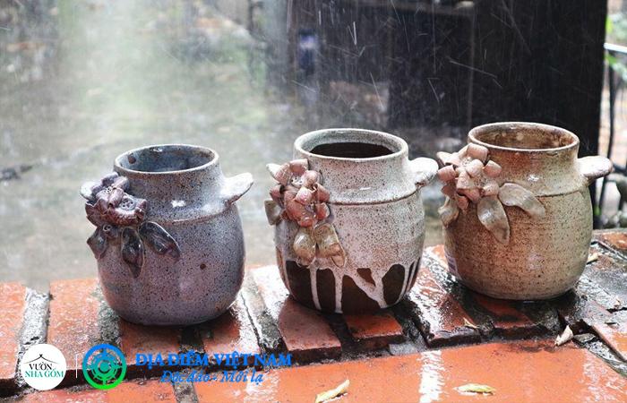 Bình gốm - Vườn Nhà Gốm - Địa Điểm Việt Nam (https://diadiemvietnam.com.vn)