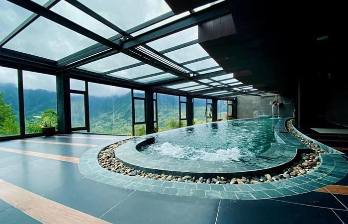 Bể bơi | Nguồn: Khu nghỉ dưỡng Sapa Jade Hill Resort & Spa